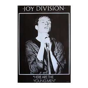 Joy Division Poster Here Are The Young Men
