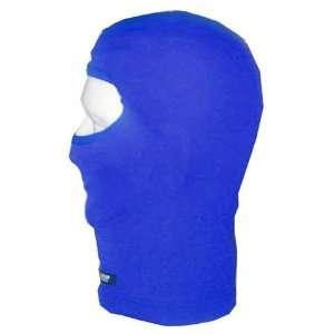 Kg Polyester Balaclava Face Mask   Royal Blue Automotive