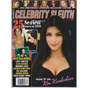 Celebrity Sleuth Magazine Number 62   Kim Kardashian: Editors of