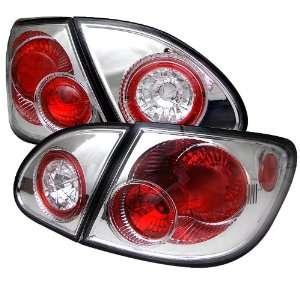 Toyota Corolla 03 06 Altezza Tail Lights   Chrome