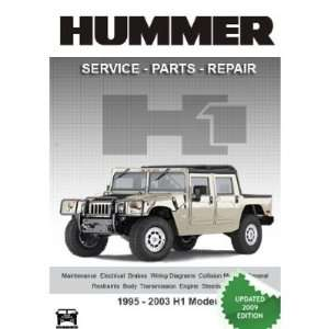 HUMMER H1 Complete Factory Service Repair Parts Manual on