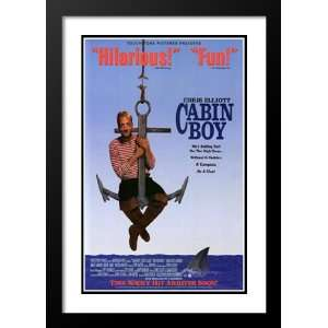 Cabin Boy 20x26 Framed and Double Matted Movie Poster