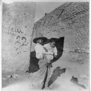 Mexican Americans,boy,toddler,Southwestern US,c1901