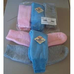 3 PAIRS WOMENS MERINO WOOL BOOT SOCKS