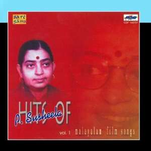 com Hits Of P.Susheela From Malayalam Films  Vol 1 P.Susheela Music