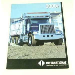International 5000i SEMI TRUCK BROCHURE 5600i 5900i