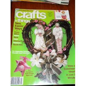 Crafts N Things March 1987 Nancy Tosh Books