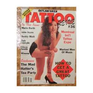 Outlaw Biker Tattoo Revue Magazine Mario Barth (June, 1994