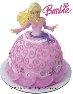 Barbie Doll CAUCASIAN Petite Signature Cake Decoration Topper Set Kit