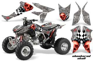 AMR ATV GRAPHICS KIT HONDA 450R 450 DECALS TRX450R QUAD