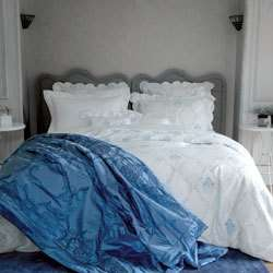 BEAUTIFUL YVES DELORME VENCE FULL/QUEEN DUVET COVER
