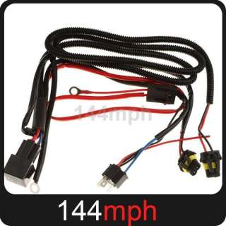 H4 HID Xenon Relay Wire Wiring Harness with Fuse