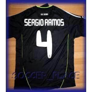 AWAY SERGIO RAMOS 4 FOOTBALL SOCCER JERSEY X LARGE