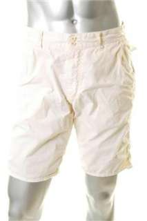 John Varvatos NEW Mens Beige BHFO Casual Shorts 32