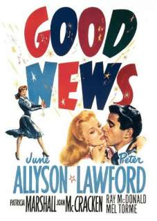 Good News June Allyson, Peter Lawford, Patricia Marshall