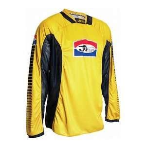 Motocross/Off Road/Dirt Bike Motorcycle Jersey   Yellow/Black / Medium