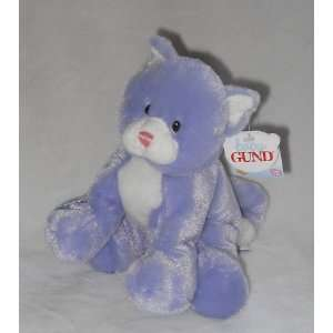 Baby Gund Pandora Purple Kitty Cat with Sound Toys
