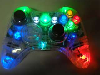 XBOX 360 MODDED CONTROLLER RAPID FIRE BLACK OPS MOD LED