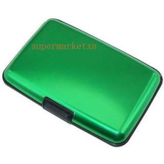 ID Card Credit Card Wallet Holder Aluminum Case Box RF ID Protector 7