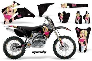 STICKER DECAL GRAPHIC BACKGROUND KIT YAMAHA YZ450F YZ YZ250F 06 09 MI
