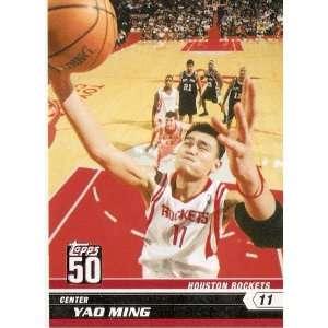 50th Anniversary Limited Edition # 31 Yao Ming / Houston Rockets / NBA
