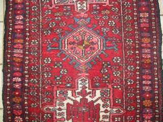 Antique Karaja Hand knotted Persian rug 136
