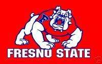 3x5 College Football Flags Fresno State Bulldogs Banner