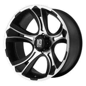 17x9 KMC XD Crank (Matte Black / Machined) Wheels/Rims