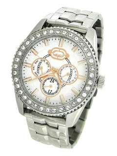 MARC ECKO MULTI FUNCTION SILVER MENS WATCH SET E15510G1