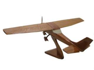 wood model is an extremely beautiful replica of the Cessna 150