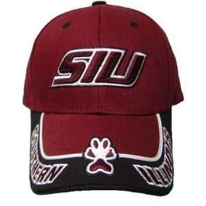 NCAA OFFICIAL SOUTHERN ILLINOIS SALUKIS MAROON CAP ADJ