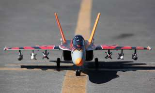 18E 64mm TIGER PNP VERSION EDF RC JET EXCEED F18