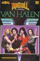 1990 RARE *VAN HALEN* COMIC BOOK ROCK N ROLL MINT