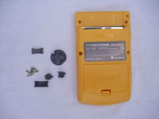 New Full Housing Shell For Nintendo Game Boy Color Yell
