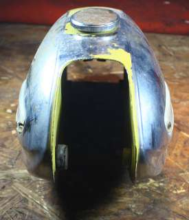 VINTAGE 1963 65 YAMAHA YG1 TWO STROKE GAS/PETROL/TANK CAFE RACER/BLACK