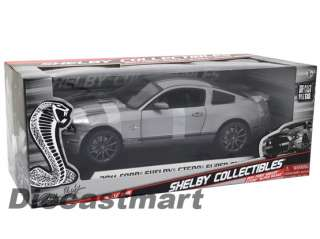SHELBY COLLECTIBLES 118 2011 FORD SHELBY GT500 SUPER SNAKE DIECAST