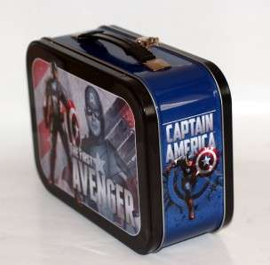 CAPTAIN AMERICA The First Avenger Marvel Comics Superhero TIN TOTE