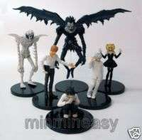 Death Note Yagami Light Ryuk Near Kira Misa L Figure 6p