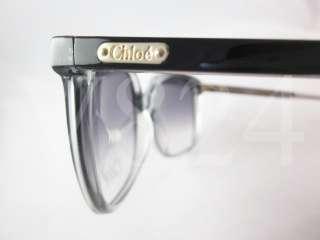 CHLOE CL 2201 Sunglasses Black Grey Gold Frame / Gradient Lens CL2201