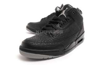 Nike Air Jordan Retro 3 Flip [315767 001] III Black/Silver