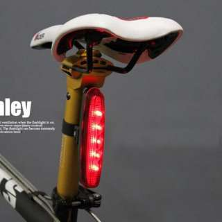 NEW 5 LED 3 Mode Cycling Bicycle Bike Caution Safety Rear Tail Lamp
