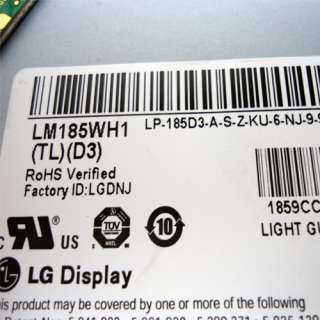 Genuine Dell Inspiron One 18.5 WXGA LCD screen LM185WH1 (TL) (D3