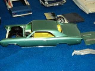 Vintage AMT MPC Model Car Kit Junk Yard Lot Parts or Repair LOT 2