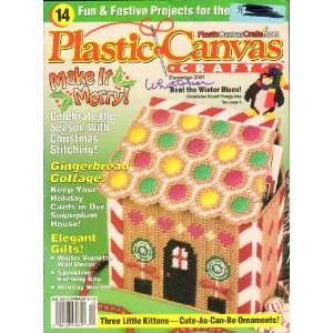 Plastic Canvas Crafts   December 2001 Laura Acott Books