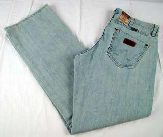 Mens Western Wrangler Retro Boot Cut Premium Patch Jeans NWT 30 x 30 $