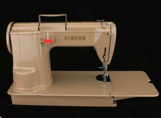 1951 Singer Model 301 (301A) Long Bed Sewing Machine ~ Featherweight