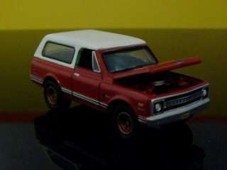 69 Chevrolet K5 Blazer 4WD 1/64 Scale Limited Edition 5 Detailed