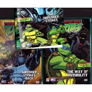 , the Way of Invisibility : Teenage Mutant Ninja Turtles Triple Pack