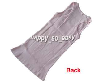Women Sleeveless Garment Tank Top Camisole Ribbed T Shirt Vest