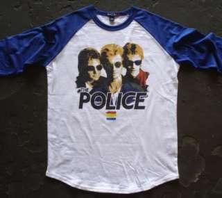 The Police t shirt vtg tour sting synchronicity u2 simple minds adam